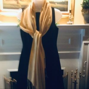 Ashley Cooper - NWT Cream yellow pashmina